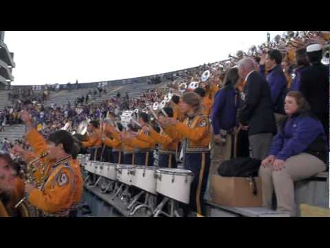 """""""Let's Play Neck, Baby"""" (for the last time at Tiger Stadium) LSU Tiger Band"""