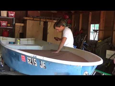 Jon Boat Build Pt.1 (templates & Framing)