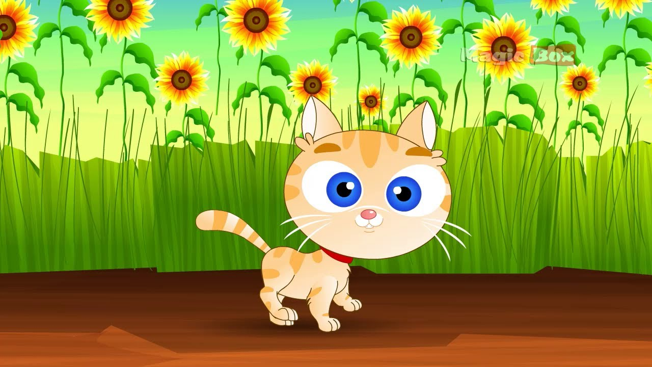 Pussy Cat Pussy Cat English Nursery Rhymes Cartoon And Animated Rhymes Youtube