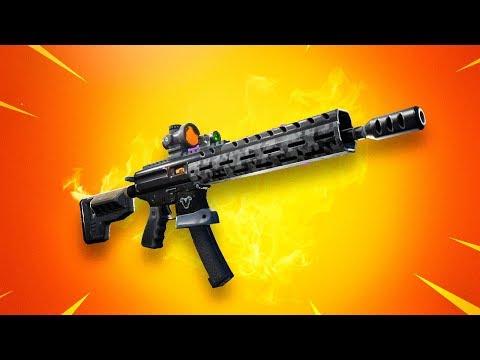 """Resultado de imagen para """"Fortnite"""" 9, fusil de asalto táctico"""