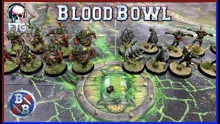 Blood Bowl | Exhibition Match | Nurgle's Rotters VS Wolfenburg Crypt-Stealers