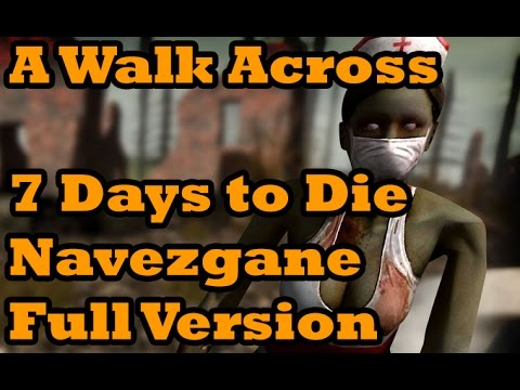 across the map 12 7 days to die a walk across navezgane map full version by theycallmeconor. Black Bedroom Furniture Sets. Home Design Ideas