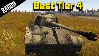Wunderbar!  Battle Rating 6.6 Tiger II - War Thunder Tanks