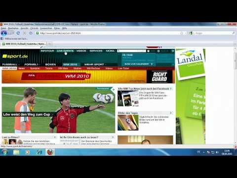 fußball schauen im internet