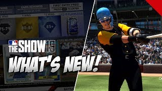 What's New in MLB The Show 19 Diamond Dynasty