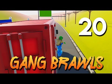 [20] Gang Brawls (Let's Play Gang Beasts w/ GaLm and friends)