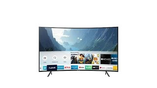 "Samsung NU7300 55"" Curved 4K UHD Smart HDTV with 2Year W..."