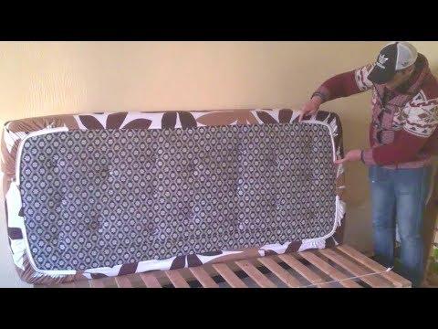 طريقة خياطة غطاء السرير بلاستيك__ How to sew bed sheet