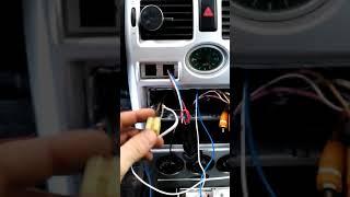 пТФ приора ПОЛНАЯ УСТАНОВКА проводки, подключение к системе зажигания