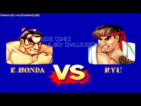 Street Fighter 2 Champion Edition - Ghazni (Usa) vs Caution (Brazil)