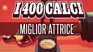 SYLVESTER 2018: Andrea Delogu presenta MIGLIOR ATTRICE | i400calci.com