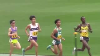 中谷圭佑 VS 一色恭志 / 2016関東インカレ陸上男子2部3部 10000m決勝