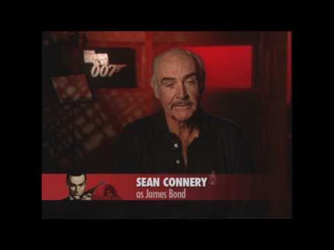 Sean Connery - Making of From Russia With Love (Video Game)