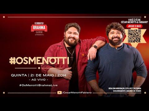 #OsMenotti - Live Memórias - 21/05