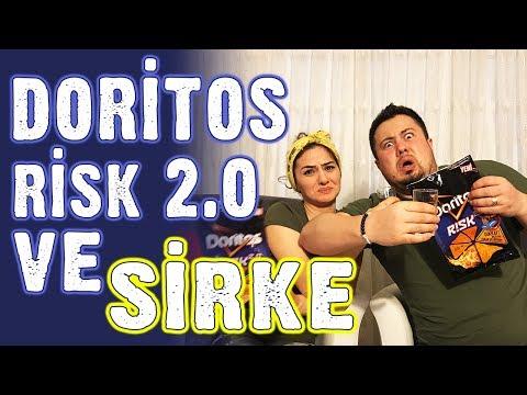 DORİTOS RİSK 2.0 YİYİP SİRKE İÇTİK (DAMAĞIMIZ ŞİŞTİ)