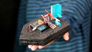 WOW! How to Make a Mini DIY RC Boat