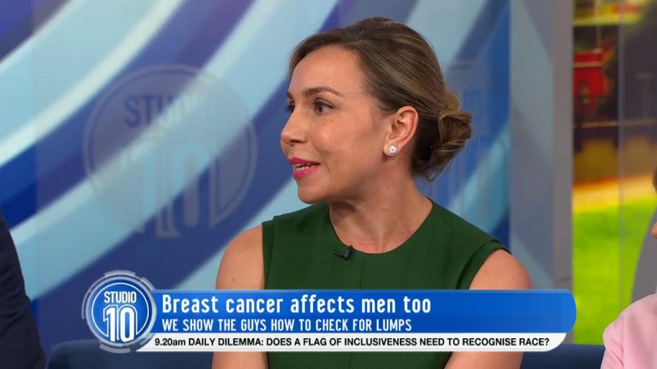 Breast Cancer Survivor Mark Martin & Dr. Dasha Fielder | Studio 10