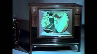 1961 RCA Victor Wireless Wizard Remote Control Color TV Ad (Restored)