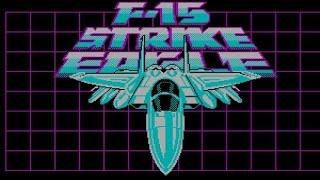 F15 Strike Eagle gameplay (PC Game, 1985)