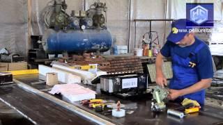 Стеклофибробетон, СФБ (Принцип действия). Оборудование СЦ-45, НСТ(Производим оборудование для напыление СФБ http://poliuretan.ru/steklofibrobeton/oborudovanie-dlya-sfb Химия и добавки для стеклофибро..., 2013-11-08T03:44:59.000Z)
