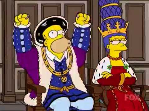 The simpsons Henry VIII