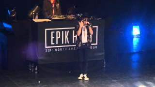 Gambar cover 150529 EPIK HIGH Tour in LA EYES NOSE LIPS