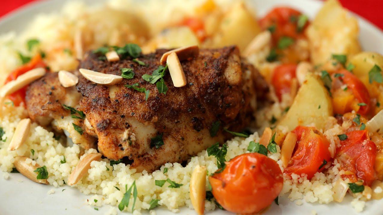 How to Make Chicken Tagine • Proper Tasty