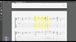 Tình khúc vàng (tab guitar solo) [Mitxi Tòng]