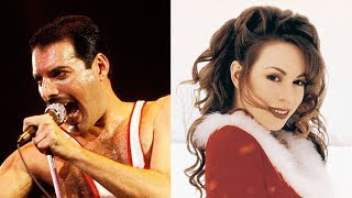 Don't Stop Christmas Now - (Mariah Carey, Queen) - Mashup Video
