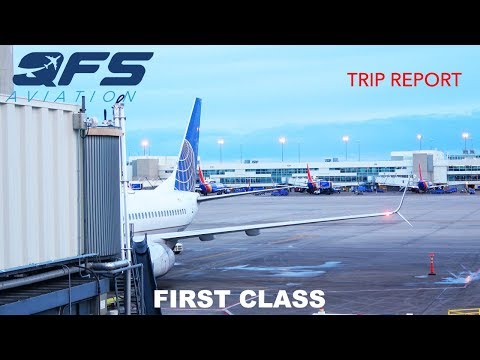 TRIP REPORT | United Airlines - 737 800 - Anchorage (ANC) to Denver (DEN) | First Class