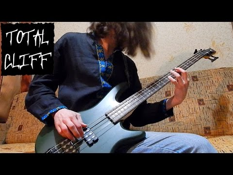 Metallica The Call of Ktulu bass cover (free bass tab on AndriyVasylenko.com) #TotalCliff