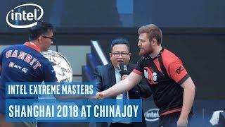 Intel Extreme Masters Shanghai 2018 at ChinaJoy   Intel