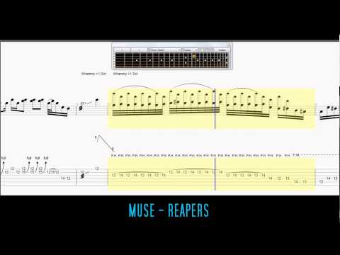 Muse - Reapers Guitar Tabs