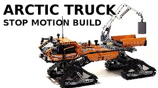 Lego Technic 42038 Arctic Truck Stop Motion Building