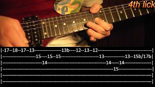 Almost Easy Guitar Solo Lesson - Avenged Sevenfold (with tabs)