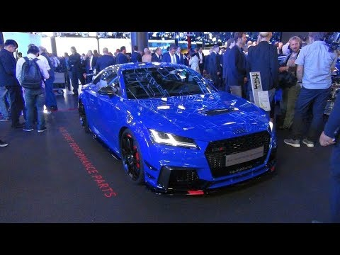 Audi TT RS FV blue Sport Performance Parts Interior Exterior | IAA 2017 - YouTube