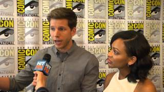 Stark Sands reveals the reason behind re-shooting the