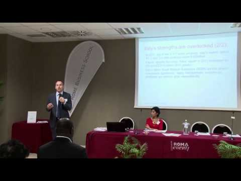 Rome Busines School  - Italia-Africa Business Forum 2015 - Antonio Ragusa