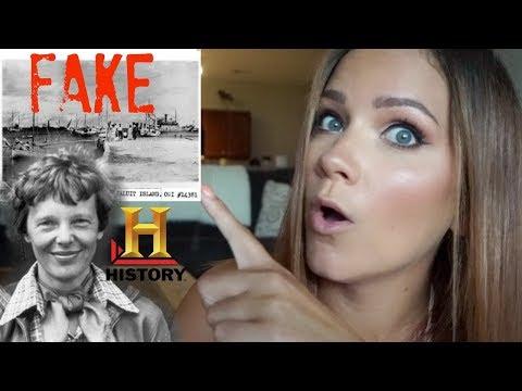 Amelia Earhart | NEW Evidence Is FAKE?!?
