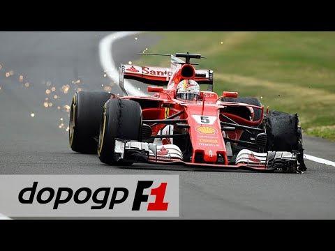 F1, GP Silverstone 2017: Hamilton vince, -1 da Vettel. Ferrari, disastro gomme | DopoGP F1