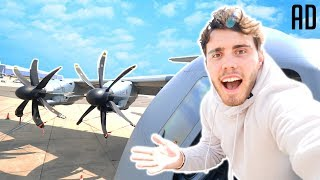 THE BIGGEST PRIVATE PLANE TOUR!!