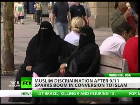 Over 20000 People accept Islam every year in the US alone