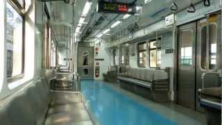 ソウルメトロ4号線4000系車内 上渓~タンゴゲ Seoul Metro Line4 train ride