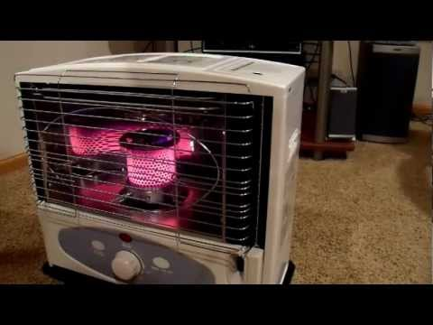 Dyna Glo 10000BTU Radiant Kerosene Heater Review YouTube