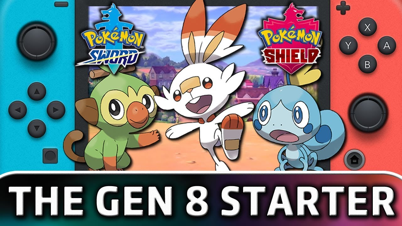 Pokemon Sword And Pokemon Shield The Gen 8 Starter Info Youtube