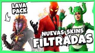 🔥 new *LAVA PACK* and SKINS FILTERED // PARK 8.2 FORTNITE