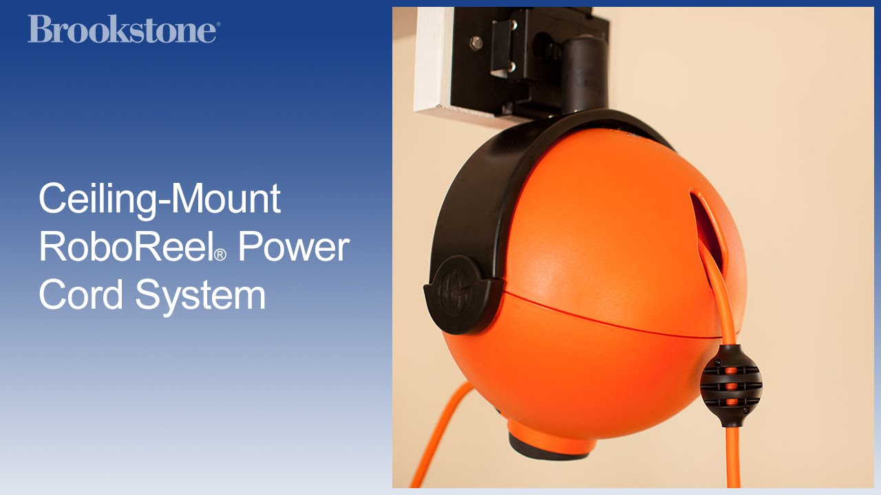 Ceiling Mount RoboReel® Power Cord System
