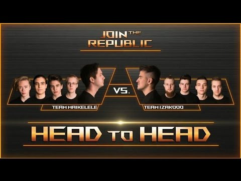 Join The Republic - Day 4 - Grand Final - Team Nordics vs Team Europe Online - Game 1 | ROG