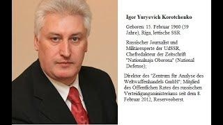 Игорь Коротченко- НАТО, Турция, Донбасс, Украинские олигархи, гибель подводной лодки - Лошарик.