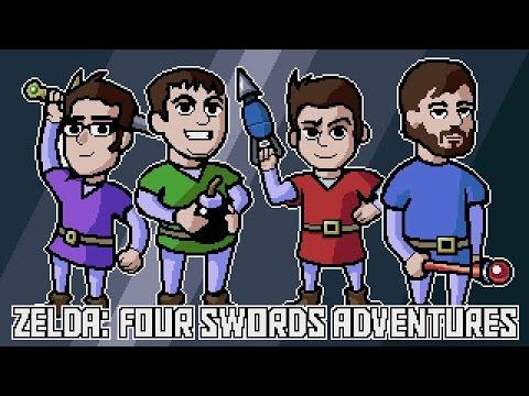 Zelda: Four Swords Adventures - Shadow Battle (Gamecube) James & Mike Mondays